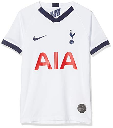 Nike Kinder THFC Y NK BRT STAD JSY SS HM Football T-Shirt, White/Binary Blue, L