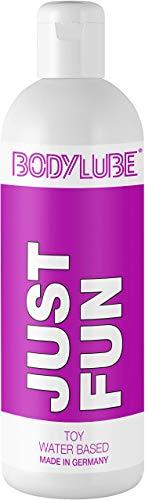 BODYLUBE® JUST FUN | Gleitgel auf Wasserbasis speziell für Toys | Premiumqualität (1000 ml)