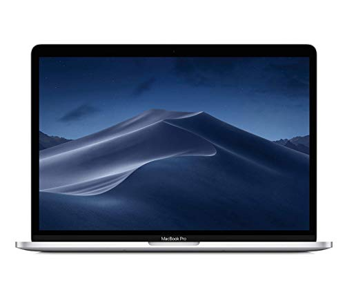 "Apple MacBook Pro (13"" Retina, Touch Bar, 2.3GHz Quad-Core Intel Core i5, 8GB RAM, 256GB SSD) - Silver (Latest Model)"
