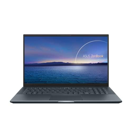 ASUS ZenBook Pro 15 UX535LI-BN235T Laptop 39,6cm (15,6 Zoll, Full HD, 1920x1080, IPS-Level, matt) Notebook (Intel Core i7-10870H, 16GB RAM, 512GB SSD, NVIDIA GeForce GTX1650 Ti, Win10H) Pine Grey