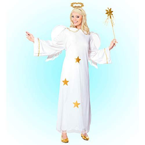 Widmann 35112 ? Adultes Costume étoile Ange, Robe avec Ailes et auréole Taille M