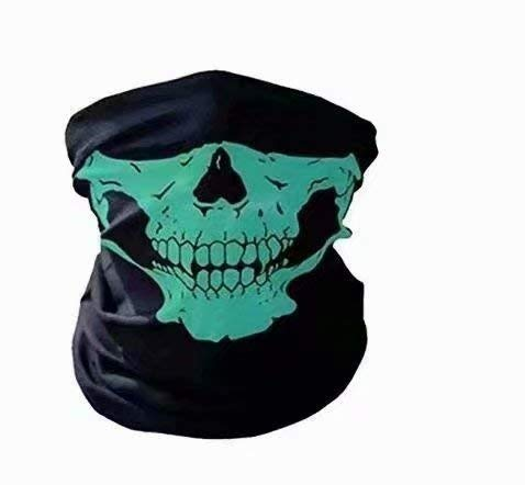 Waymeduo Neu Skeleton Schädel Bandana Snowboard Skifahren Motorrad Biking Rave Maske Paintball