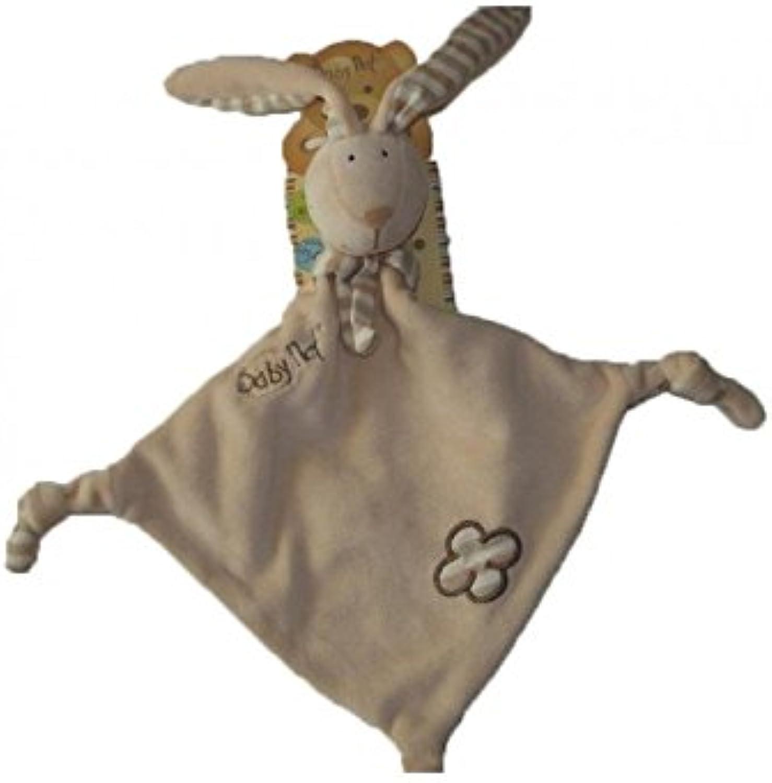 Babynat Kuscheltier babynat Baby nat Hase flach beige braun Kopftuch – 6491 B07CPNK827  ein guter Ruf in der Welt | Sonderpreis