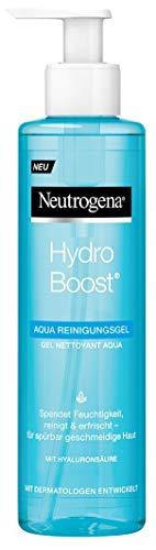Neutrogena Hydro Boost Aqua Reinigungsgel / leichte Gel-Lotion Formulierung mit Hyaluronsäure und Glycerin / 1 x 200ml