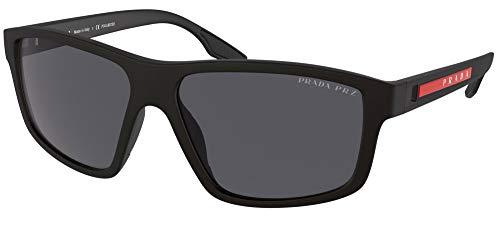 Occhiali da Sole Prada Linea Rossa PRADA LINEA ROSSA SPS 02X Matte Black/Grey 60/15/145 uomo