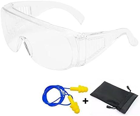 Gafas de Seguridad Resistentes a Arañazos - Gafas Protección Trabajo - Gafas a Prueba de Polvo - Para Uso Industrial, Agricola o de Laboratorio
