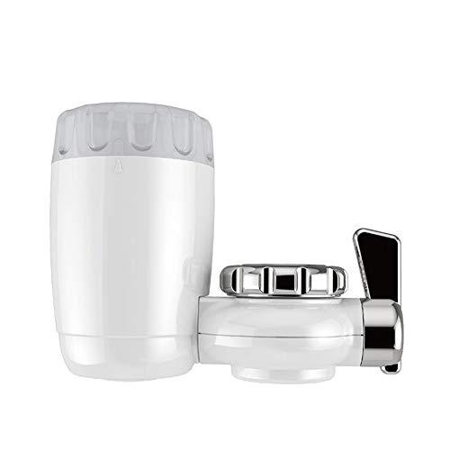 QHGao Home Kraan Water Purifier, Keuken Kleine Kraan Tap Water Filter, Optimale Filtratie Systeem voor Keuken En Badkamer Spoelen, Transparant Raam, Gemakkelijk te installeren, Niet giftig En Onschadelijk
