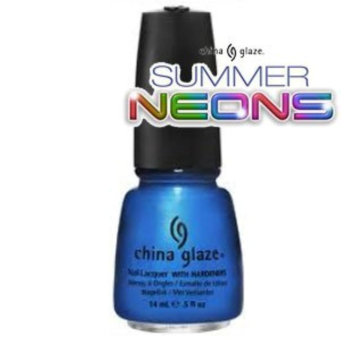 有効な乗り出す北米(チャイナグレイズ)China Glaze Splish Splashーサマーネオン コレクション [海外直送品][並行輸入品]