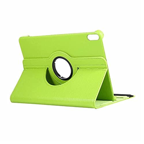 Funda de la tableta para Huawei Honor Pad V6 Case 10 4 pulgadas 360 grados rotación pu cuero stand cubierta para Honor Pad V6 Funda protectora Verde_Para Honor Pad V6