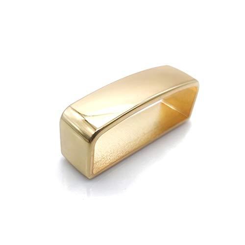 Hebillas de cinturón para Hombre Cinturón de cinturón de aleación de Zinc Metal Metal Sólido Cinturón de Correa D Cuadro D Cinturón Correa Correa Anillo Hebilla para Artesanía de Cuero Bolsa Cuadrada