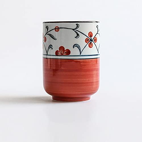 Tazas de sake vintage, estilo japonés, ecológicas, para té, vino, sushi, creativa, familiar, restaurante, decoración, regalo de viaje para amigos (capacidad: 200 ml, color: estilo E)