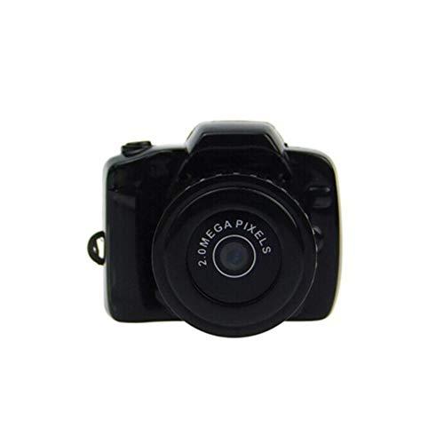 QUWN bewakingscamera's HD Outdoor Sport Ultra Mini DV zakken digitale videocamera camcorder, ondersteuning maximale 32GB Micro SD/TF-kaart (zwart)