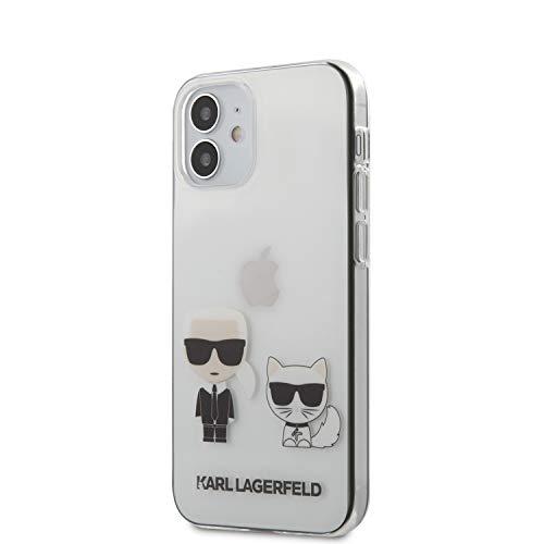 Karl Lagerfeld KLHCP12SCKTR Hülle für iPhone 12 5,4