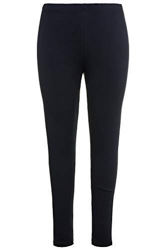 Ulla Popken 485548, Pantalones para Mujer, Azul (Marine 71), 62 (Talla Del Fabricante: 66+)