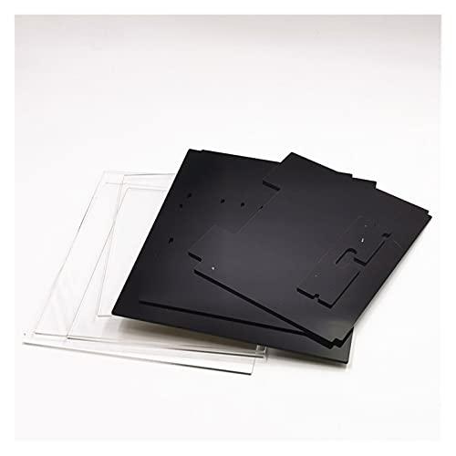 XINYE wuxinye Upgrade Voron 0 V0.1 Acrylic Pannel Enclosure Kit Fit For Voron0.1 3D Printer DIY Kit