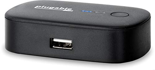 Plugable USB 2.0 Switch for One-Button USB Device Port Sharing Between Two Computers (AB Switch)