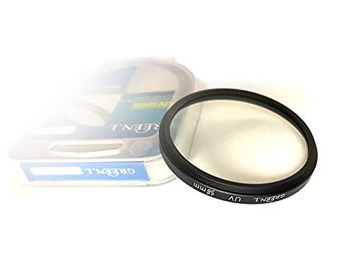 Filtro UV da 58 mm per Canon EF-S 18-55 mm, EF-S 55-250 mm f/4-5.6, Nikon AF-P DX NIKKOR 70-300 mm f/4.5-6.3G e altre lenti da 58 mm (confezione da 1)