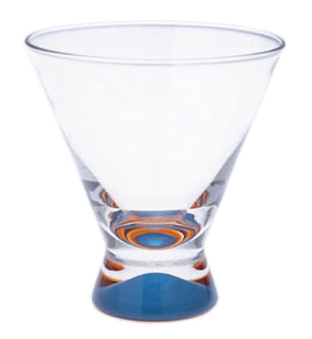 ハプニングストライドメロンDANSK ダンスク スペクトラ カクテルグラス 200ml ブルー 食洗器不可 6309744