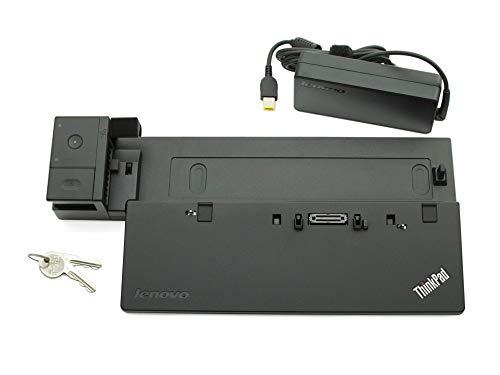 Lenovo Docking Station inkl. Netzteil (90W) Ultra Dock Original ThinkPad T450 Serie (Generalüberholt)