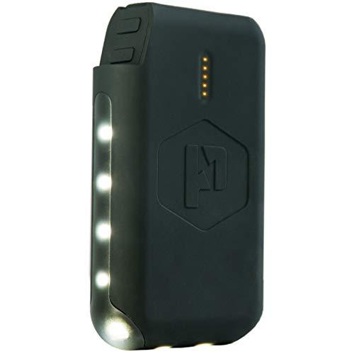 Power Praktische Pronto Power Bank und LED-Laterne, 10.000 mAh tragbare Handy Ladegerät mit zwei 2,4 A USB Ausgängen - Taschenlampe/Laterne + externer Akku Pack für Handy, Tablet