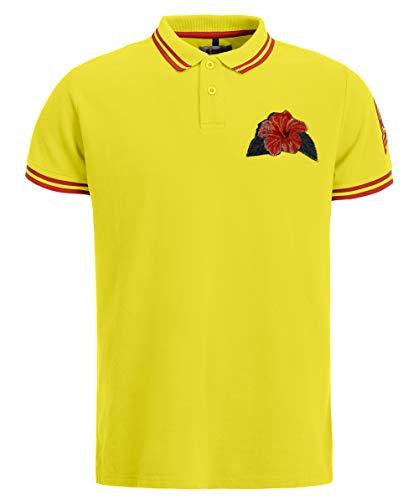 Invicta Herren Polo Hawaii Poloshirt, Gelb (Giallo 2), XX-Large