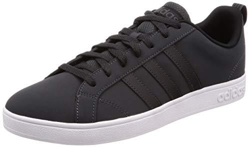 Adidas Men's Vs Advantage Carbon/Cblack/Ftwwht Tennis Shoes-6 UK/India (39 1/3 EU) (B43738)