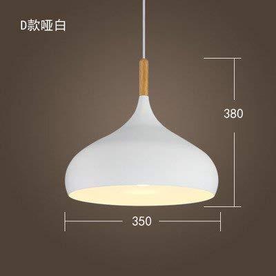 ERD Gzz Deng buitenverlichting hanger moderne verlichting Japanse stijl eenvoudig retro verlichting industrieel restaurant bar kamer kantoor van hout wit 35 cm 9 W LED