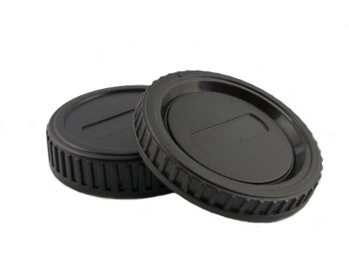 Gehäusedeckel + Objektiv Rückdeckel für Sony/Minolta AF Bajonett