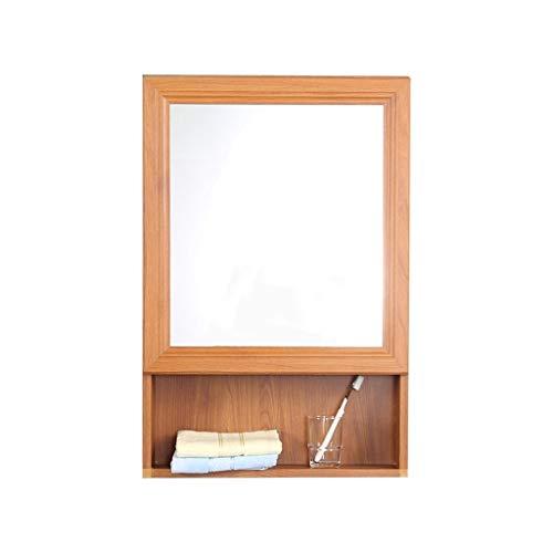 Spiegelkast met spiegel van aluminium badkamerspiegel wandkast badmeubel
