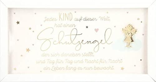 Depesche 11627-003 - Cornice portafoto con scritta in lingua inglese 'Love', 19 x 10 x 1 cm, colore: bianco, 14 x 10 x 1,9 cm