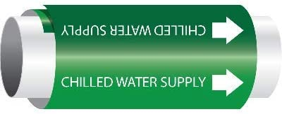 SIZE 8LG, GRN/WT CHILLED WATER SUPPLY