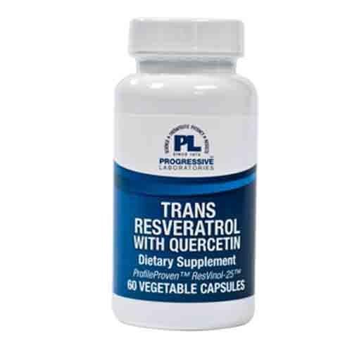 Trans-Resveratrol w/ Quercetin 125mg 60c