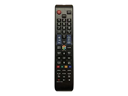 Fernbedienung für Samsung BN59-01198Q BN5901198Q LED TV - Mit Zwei 121AV AAA Batterien enthalten
