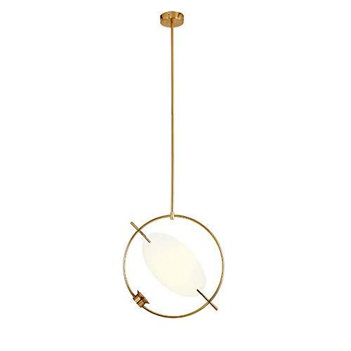 Candelabro, Lámparas de diseño nórdico Iluminación Colgante Moderna Candelabro de luz de latón Cepillado E27 Soporte para lámpara Colgante para Isla de Cocina, Cable Ajustable