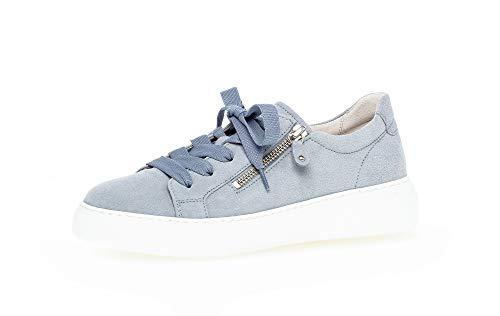 Gabor Damen Halbschuhe, Frauen Sneaker,lose Einlage,Best Fitting,Plateausohle,Women's,schnürschuhe,schnürer,Halbschuhe,aquamarin,39 EU / 6 UK