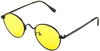 8b5f33ed58 Cyxus filtro de luz azul gafas redondo marco mejor dormir [lente amarillo]  eliminar la