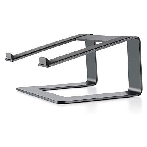 Laptop Stand, Laptop Stand de aluminio for escritorio Compatible con Notebook, titular portátil ergonómico del 10 al 15,6 pulgadas PC de escritorio del ordenador (color, plata), gris ( Color : Gray )
