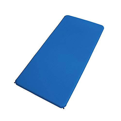 Jxing568238 Jia Xing Thickening Widened Moisture-Proof Tent Mat Single Air Bed Automatic Air Bed Car Air Bed Air Sheets People Camping Air Sheets People Best Air Bed (Color : Blue)