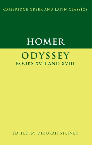 Homer: Odyssey Books XVII-XVIII (Cambridge Greek and Latin Classics)
