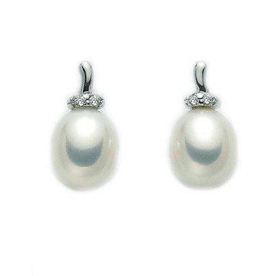 Orecchini Perle Diamanti MIluna PER1929X