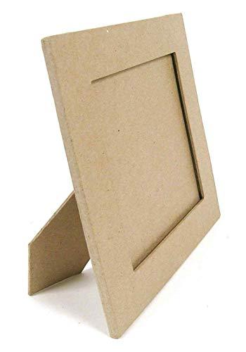 Decopatch Oggetto da Decorare in cartapesta, Carta, Kraft Naturale, 28.0 x 23.0 x 0.7 cm