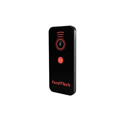 Foto&Tech IR Wireless Remote Control Compatible with Sony A7R IV III II,A7III A9 A7 II A7 A7R A7S A6600 A6500 A6400 A6300 A6000 A55 A65 A77 A99 A900 A700 A580 A560 A550 A500 NEX-7 NEX-6 NEX5T NEX-5R