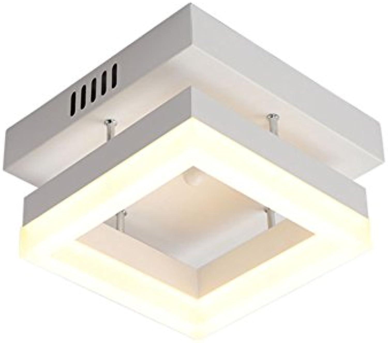 William 337 Nouveaux plafonniers de LED 12W AC90-260V Moderne LED Lampes de Allée de la lampe de plafond LED éclairage pour le salon (Couleur   Lumière blanche, forme   voitureré)