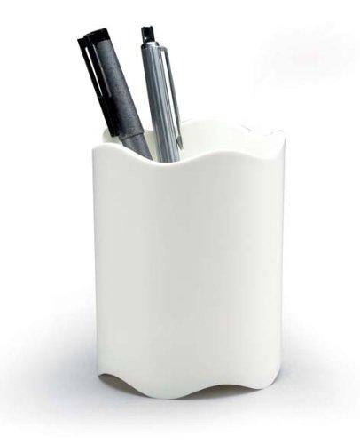 Durable Trend Pot à crayons Plastique Blanc