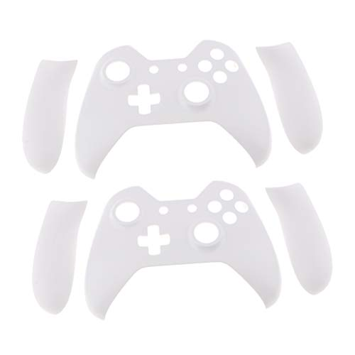 P Prettyia White Replacement Controller Faceplate Front Shell Case For Xbox One Controllers New