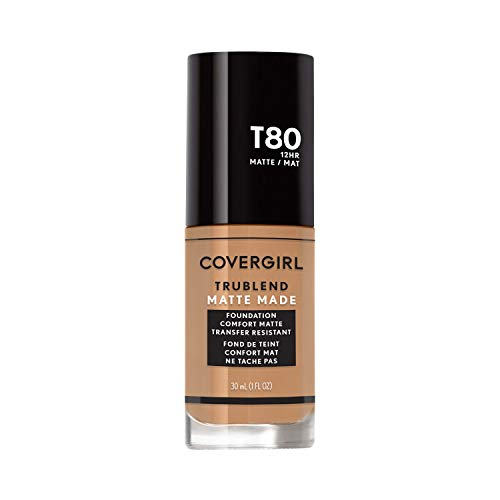 1oz COVERGIRL TruBlend Matte Made Liquid Foundation  $1.90 at Amazon
