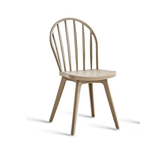 YUTRD ZCJUX Las sillas apilables de plástico de diseño Moderno contemporáneo, con los Brazos hacia atrás Sillones de Cena de la Cocina