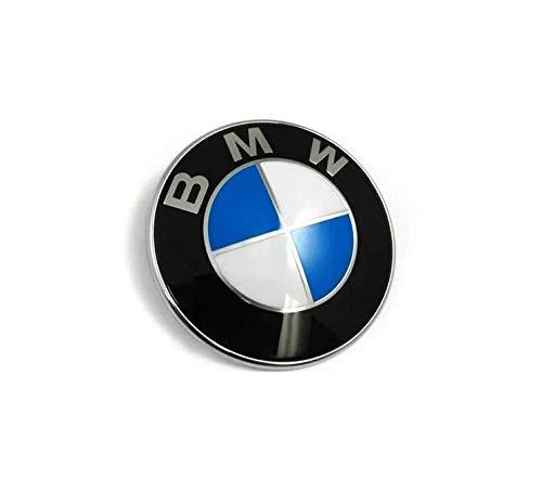 Unbekannt 1x BMW Logo 82mm Emblem für BMW E30 E36 E46 E34 E39 E60 E65 E38 X3 X5