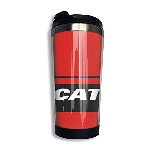 Taza de viaje de carbono Ducati Taza de café Vaso aislado al vacío de acero inoxidable 135 oz