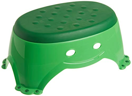 Mommy's Helper Step Up, Taburete antideslizante, Colección Froggie, Verde